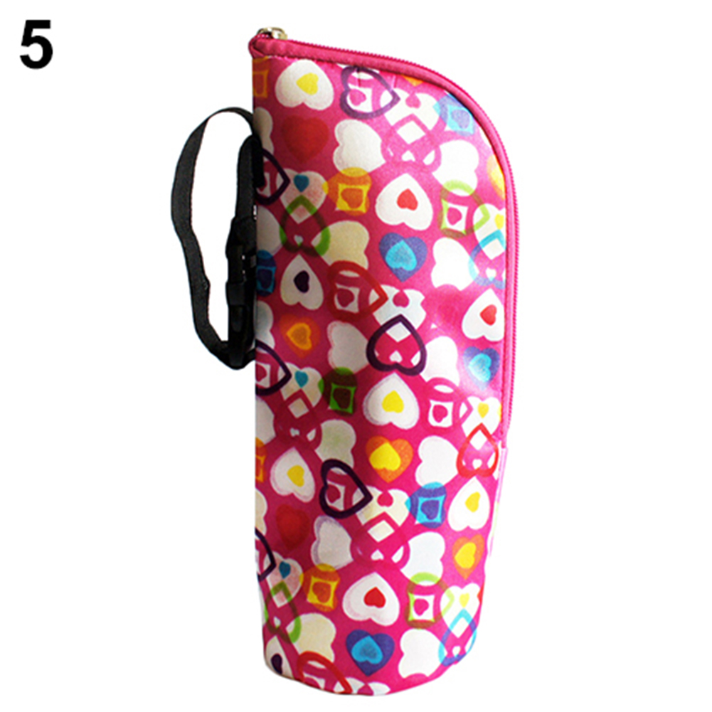 Baby Thermal Feeding Milk Bottle Warmers Bag Hang Stroller Mummy Insulation Tote