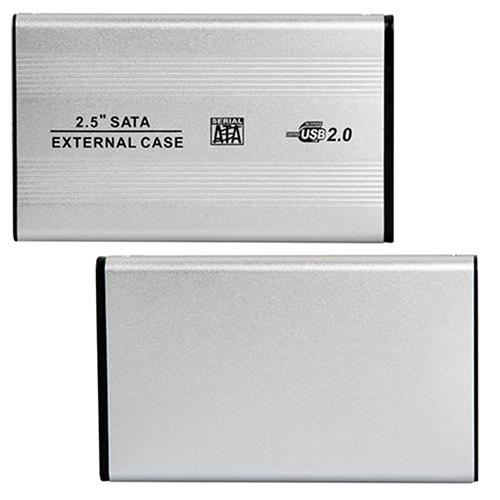 Portable USB 2.0 SATA Case 2.5 Inch Mobile External Hard Disk Drive HDD Enclosure