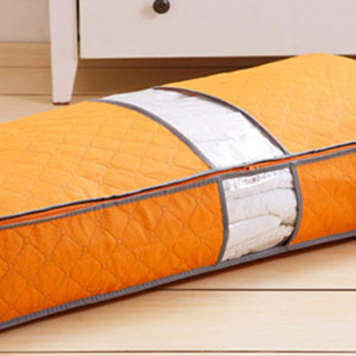 Zipped Clothes Duvet Clothing Pillow  Under Bed Handle Storage Organizer Bag