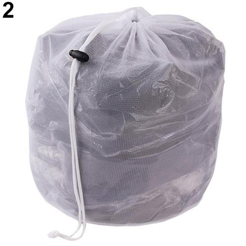 Washing Machine Used Fine Coarse Mesh Net Drawstring Thickened Laundry Wash Bag