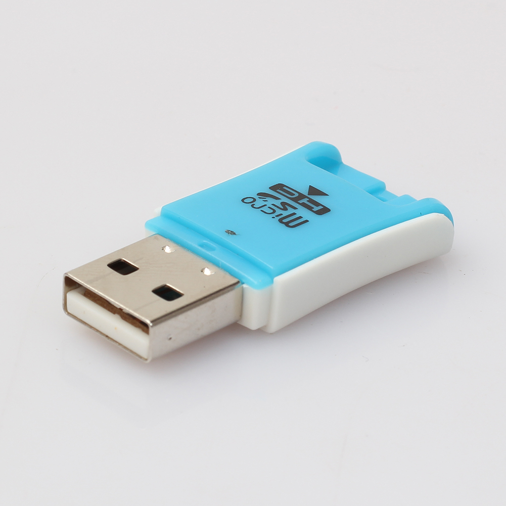 High Speed USB 2.0 Mini Micro SD TF M2 ABS T-Flash Memory Card Reader Adapter