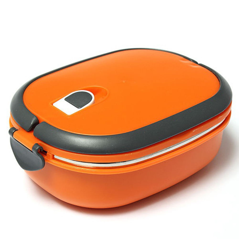2/1 Layer Stainless Steel Insulated Bento Lunch Box Food Container Storage Box