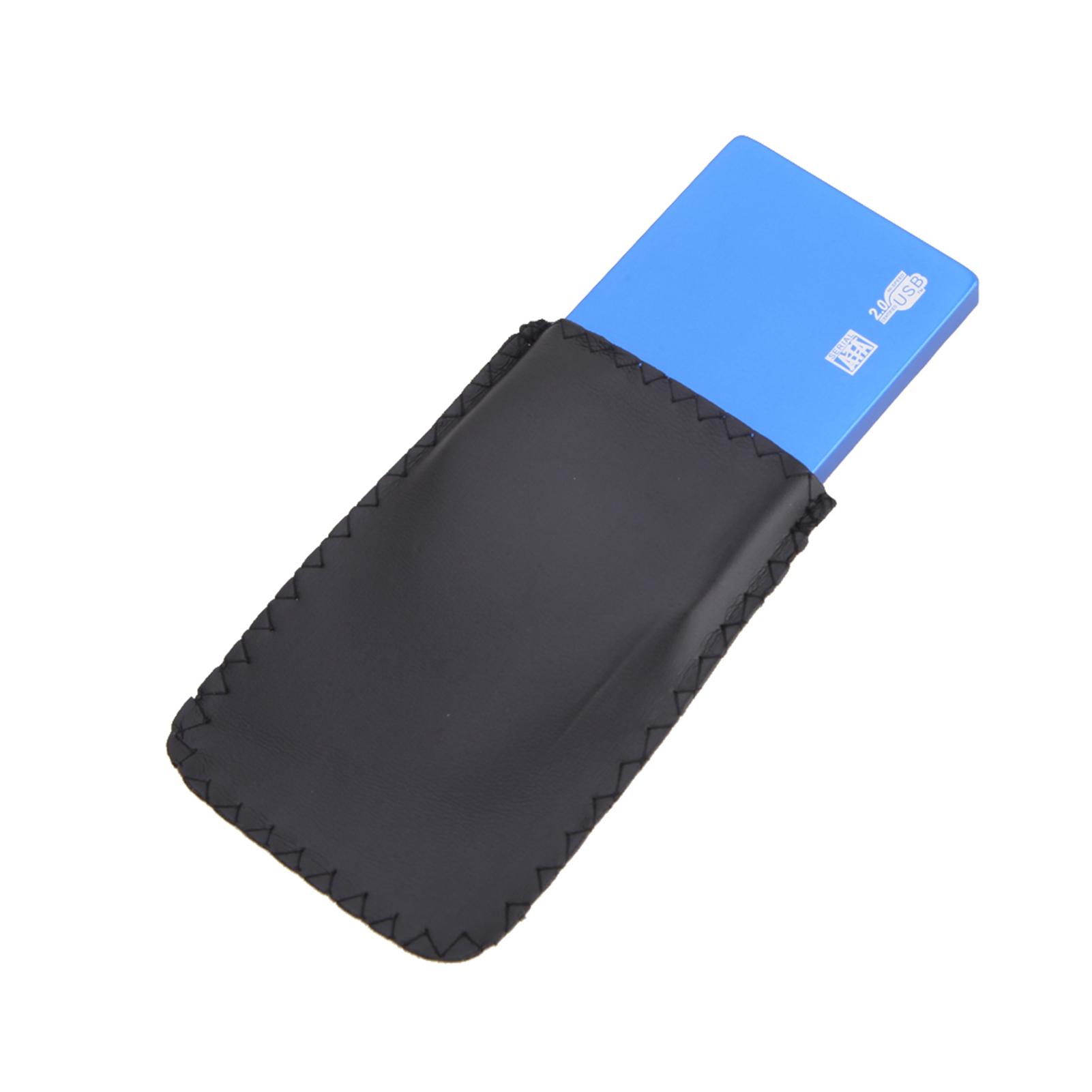 Ultra-Slim USB 2.0 Hard Drive External Enclosure Case for 2.5 Inch SATA HDD SSD