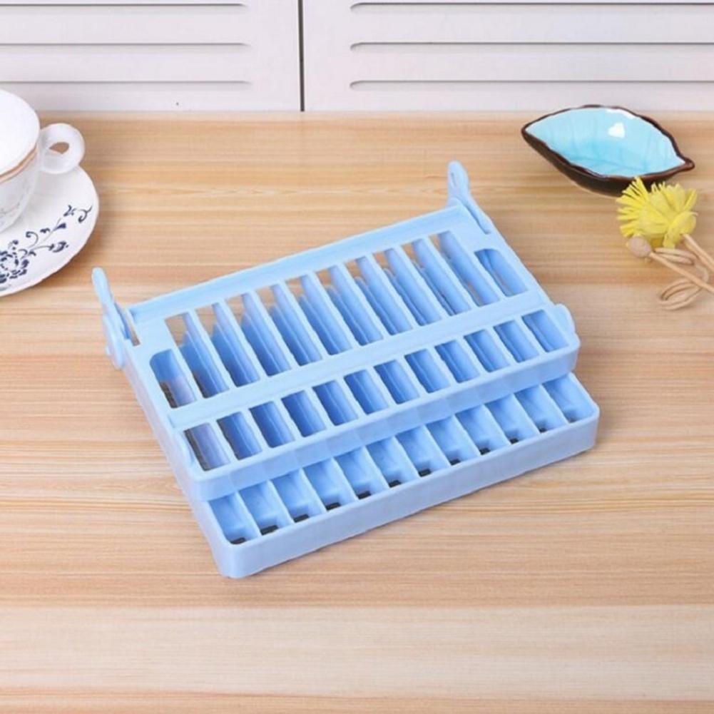 Plate Storage Home Racks Organizer Foldable Utensils Holders Kitchen Tools