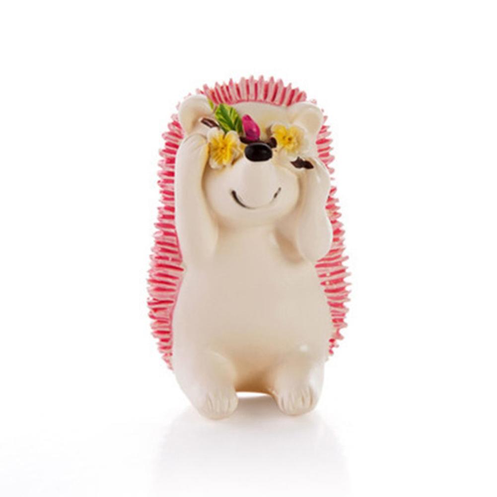 1Pc Cartoon Hedgehog Toothbrush Holder Razor Storage Bathroom Organizer Rack