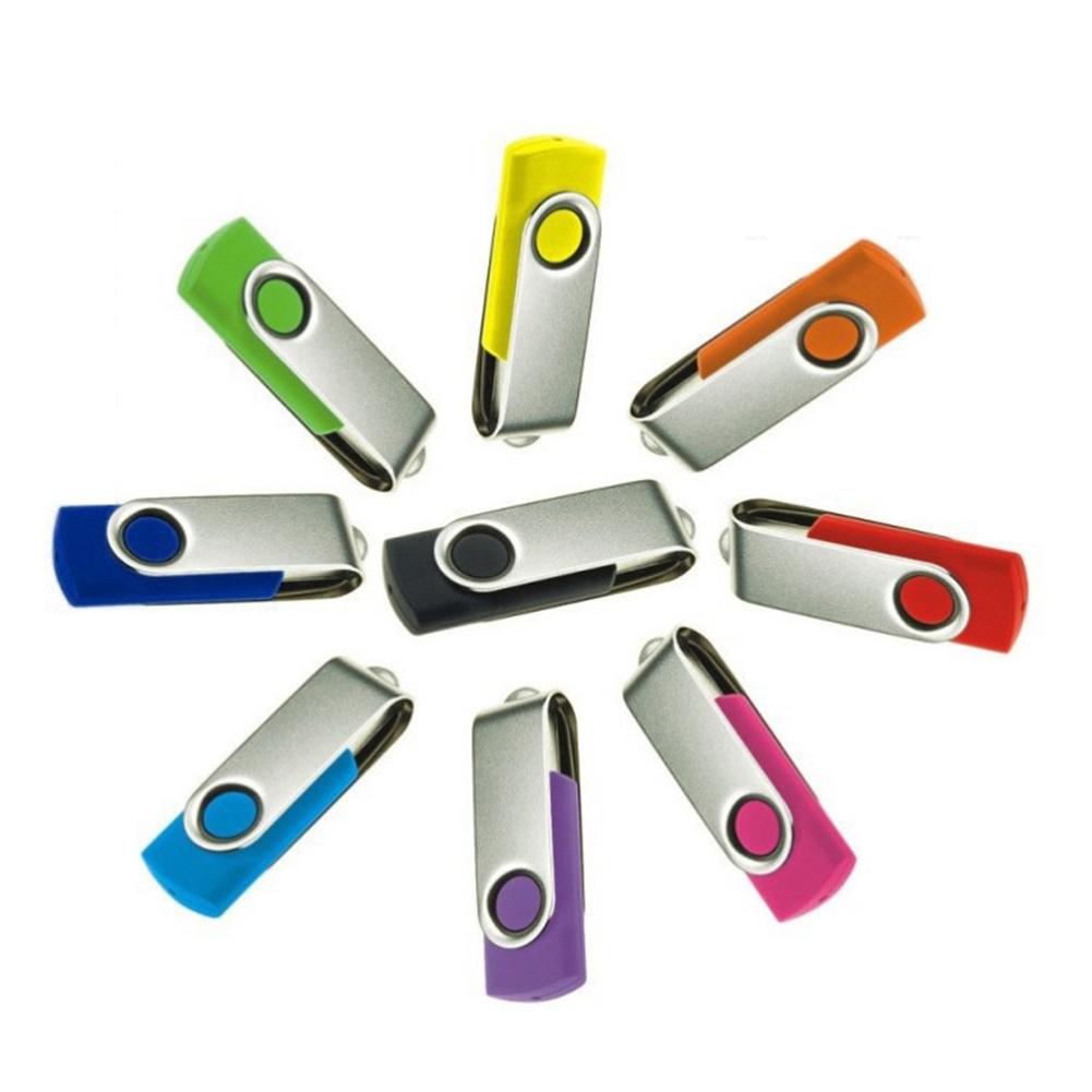 USB 2.0 Flash Memory Stick Pen Drive U Disk Swivel Key 64GB 32GB 16GB 8GB 4GB
