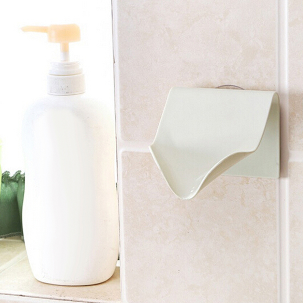 Practical Strong Suction Cup Drain Spong Soap Box Holder Tool for Bathroom