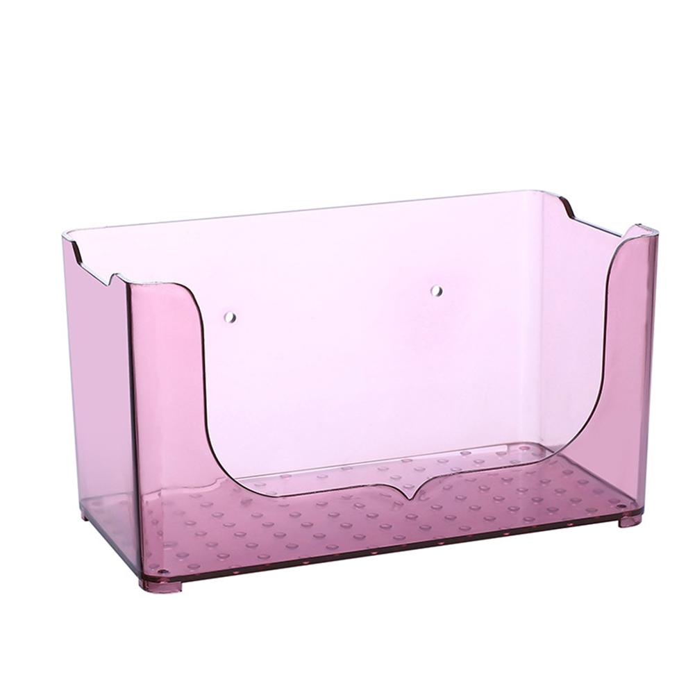 Plastic Wall Mount Kitchen Bathroom Cosmetic Storage Shelf Rack Home Organizer