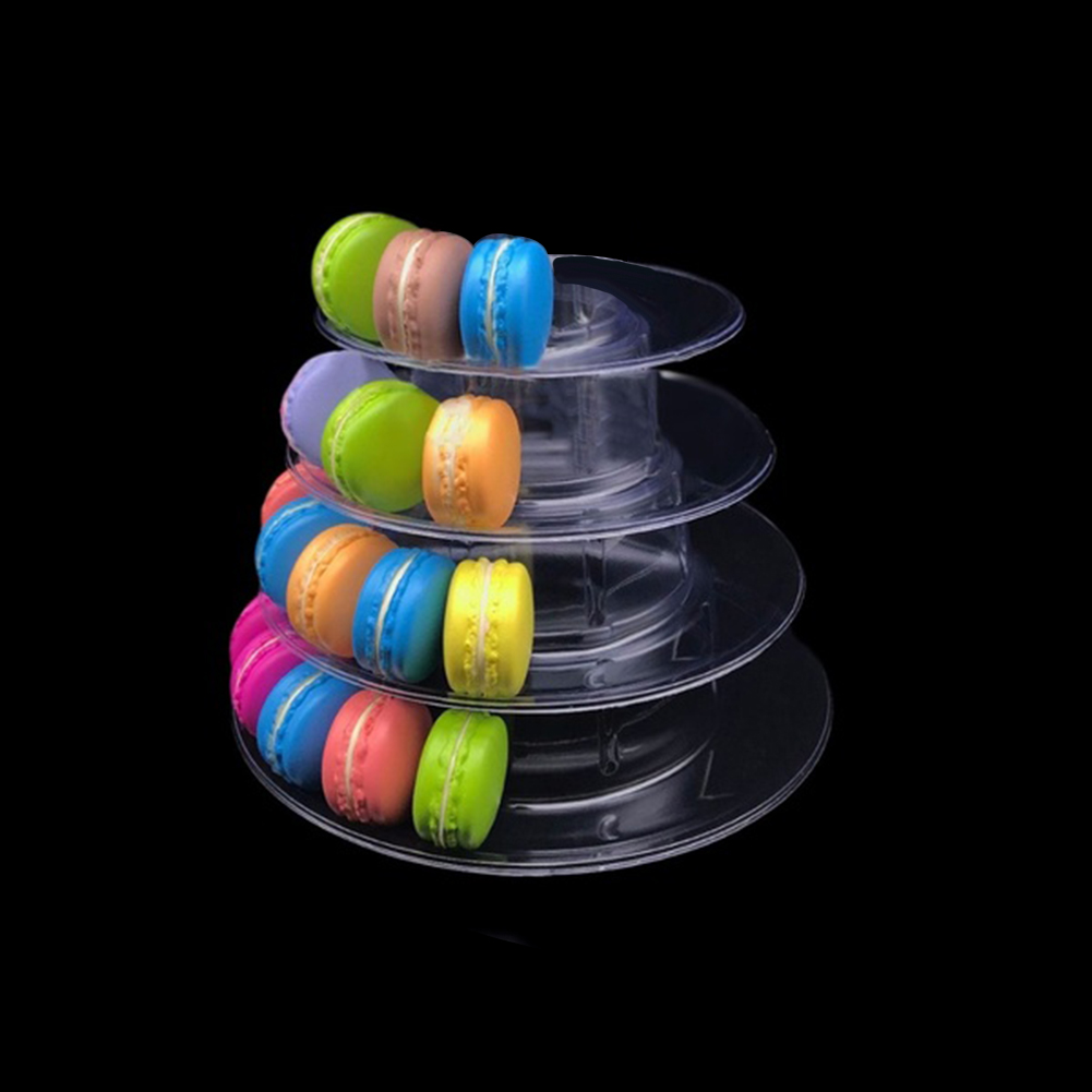 4-6-8-9-10-13-Tier-Clear-Macaron-French-Macaroons-Tower-Display-Stand-Rack-Prope thumbnail 9