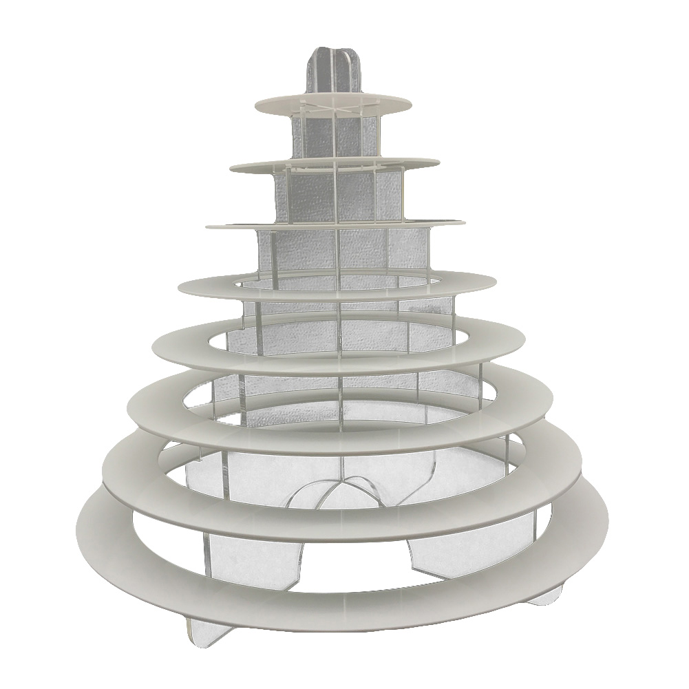 4-6-8-9-10-13-Tier-Clear-Macaron-French-Macaroons-Tower-Display-Stand-Rack-Prope thumbnail 11