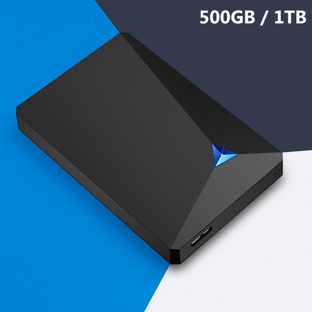 1TB/500GB Portable Desktop Laptop External USB 3.0 High Speed Hard Disk Drive