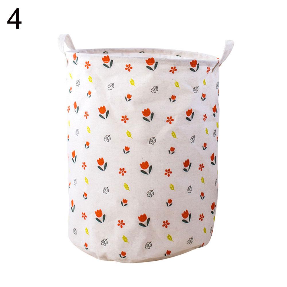 Arrows Flamingo Folding Laundry Clothes Storage Basket Sundries Holder Organizer