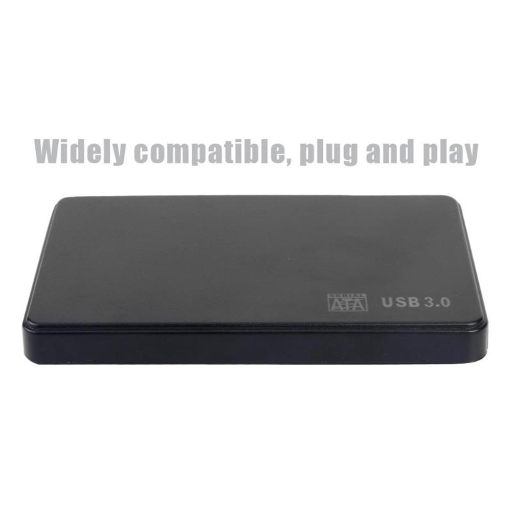 Portable 5Gbps USB 3.0 2.5 inch SATA External Hard Disk HDD SSD Case Box for PC