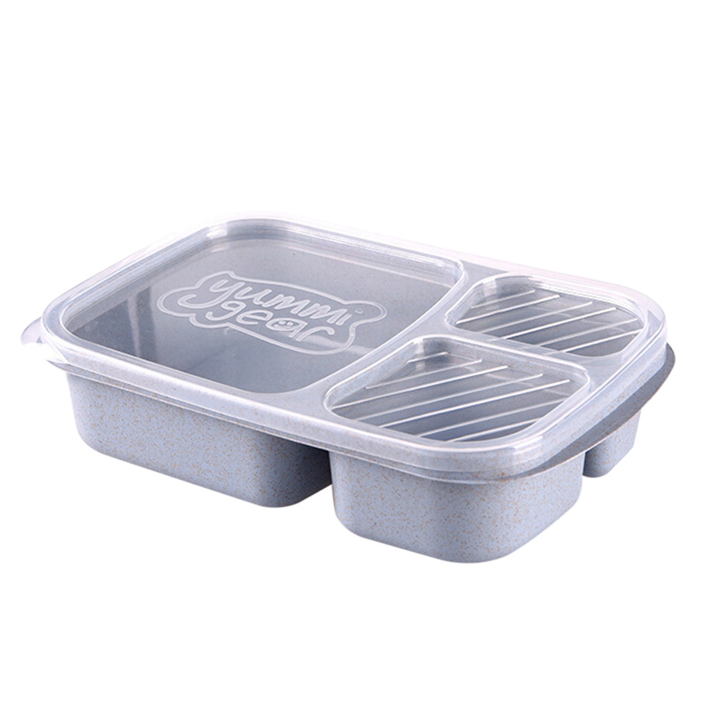 Portable Lunch Box Picnic Food Fruit Storage Case Container for Students Worker