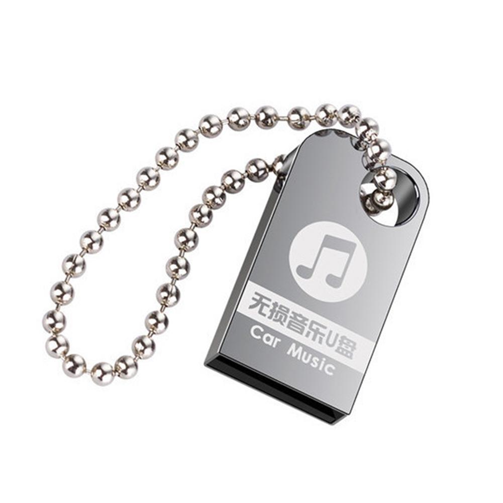 16/32/64GB Metal Portable Car Music USB Flash Drive Memory Stick Disk for PC